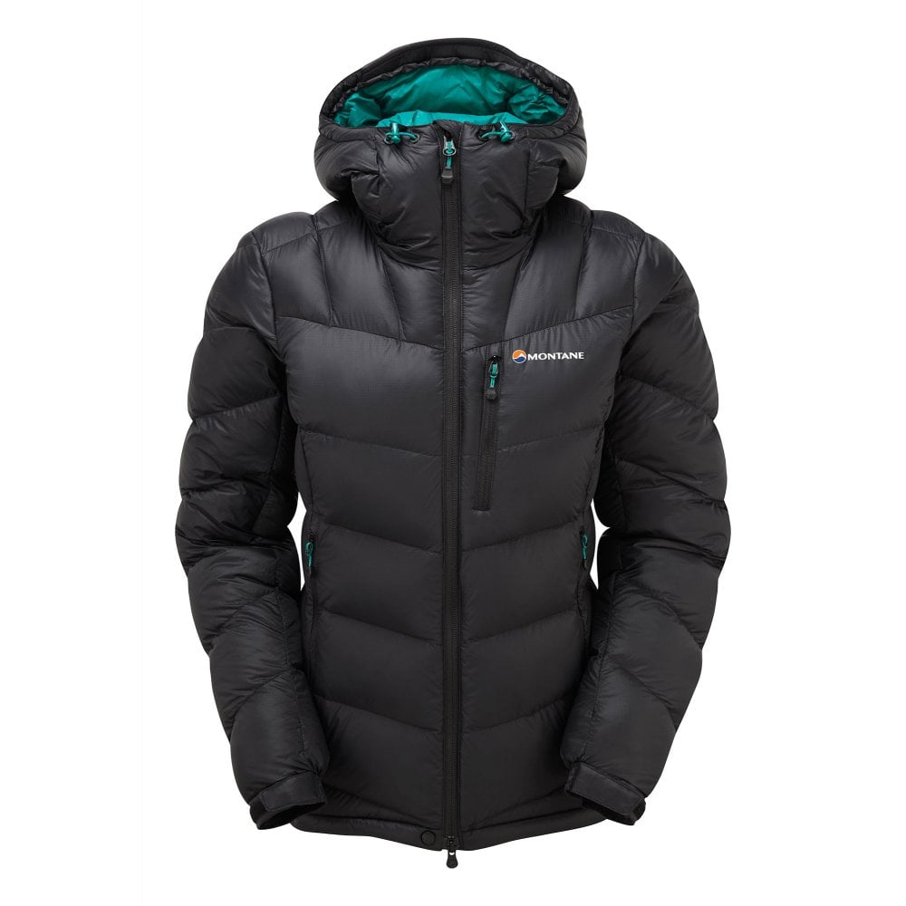 MONTANE WOMENS WHITE ICE JACKET BLACK £220.00